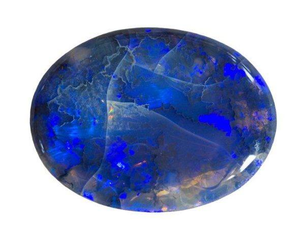 Opalo piedra azul