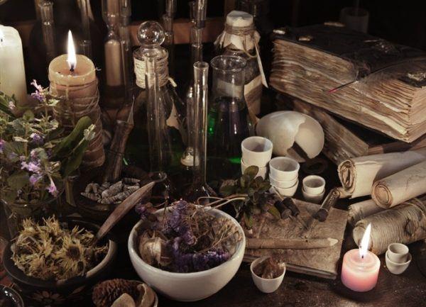 Alquimia utensilios