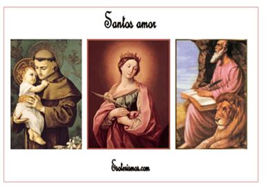 santos amor - pulsa para más información