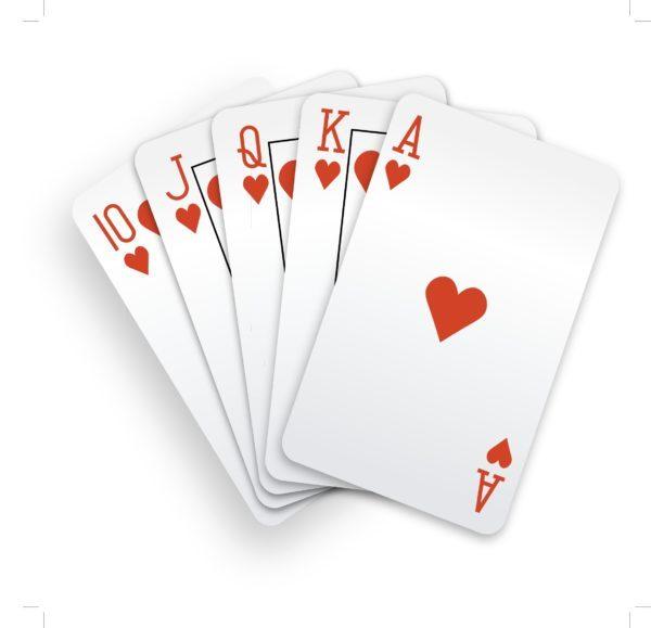 Si sueñas con cartas y salen corazones