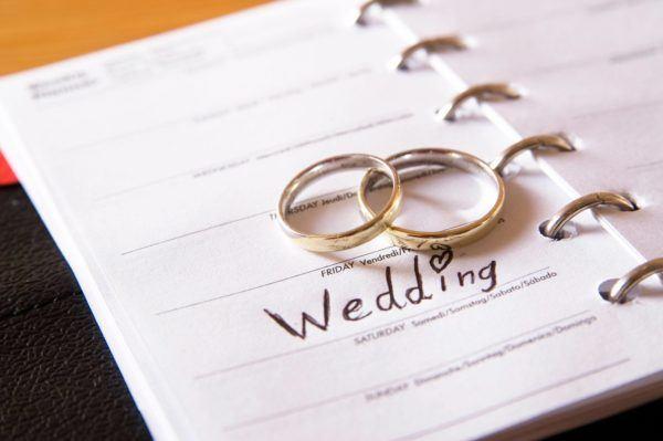 Soñar que se asiste a una boda