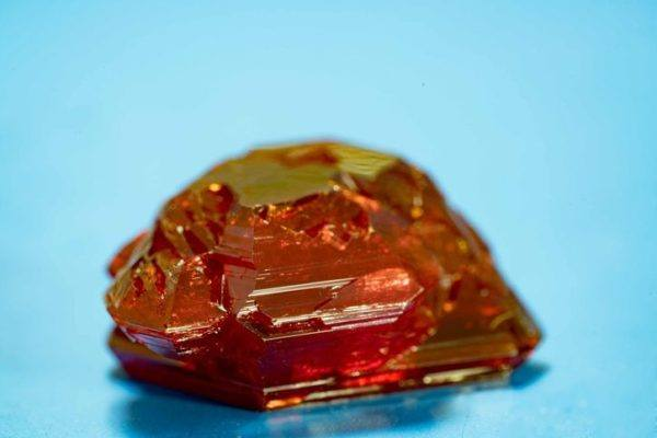 Fluorita roja