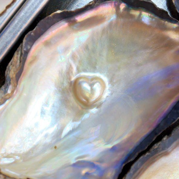 Madre perla corazon