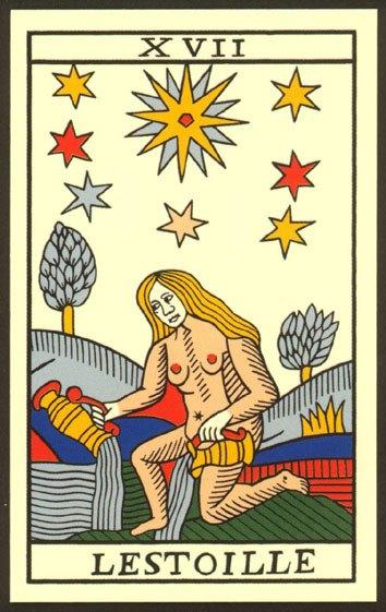 Cuál Es El Significado Y La Interpretación De La Carta La Estrella Del Tarot Esoterismos Com