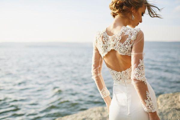 Sonar vestido novia
