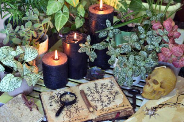 Como hacer un altar bruja
