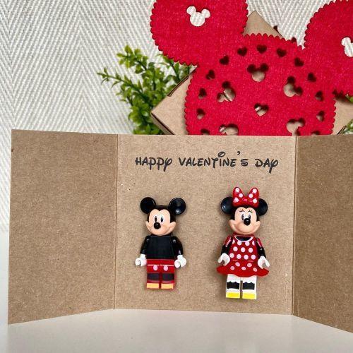 Tarjeta de San Valentín de Mickey
