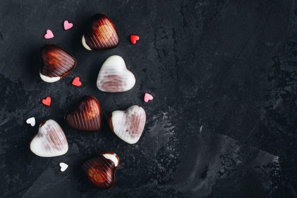 Bombones corazones