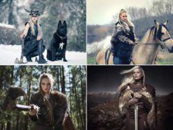 Quiénes eran las mujeres vikingas guerreras