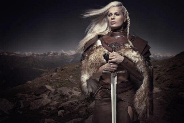 Quienes eran mujeres vikingas guerreras
