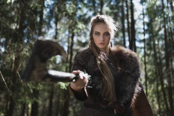 Quienes eran mujeres vikingas