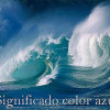 Significado color azul