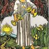 Significado arcanos mayores del Tarot | la templanza