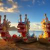 El Festival de los botes Dragón (III).