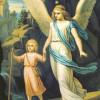 Los serafines Elemiah, Mahasiah, Lelahel y Aciaiah