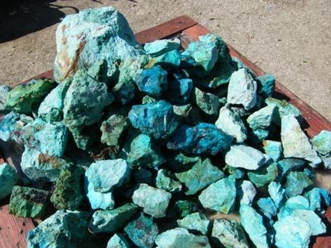 piedras mágicas, crisocola