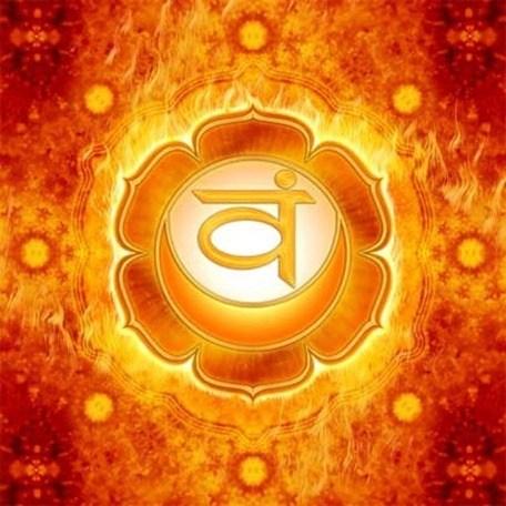 2º Chakra Chakra Sacro - Naranja