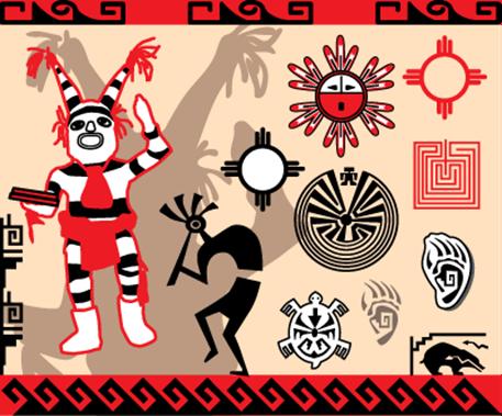 símbolos do hopi