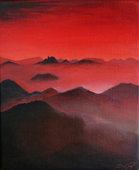 red_mountains___painting_by_loiissipoff-d2xzguo