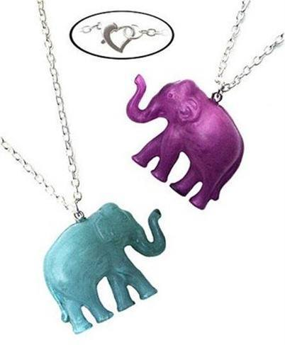 Lucky Elephant Necklace by Rebecca Berry Jewelry
