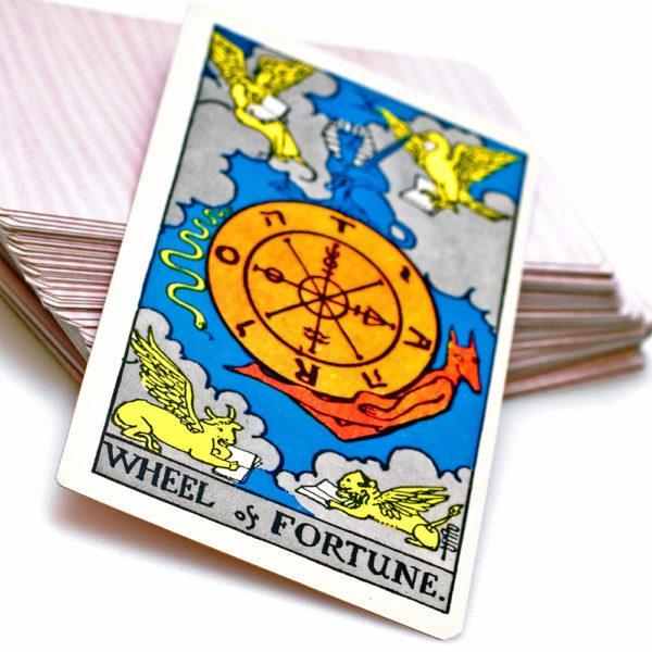 Soñar con las cartas del Tarot