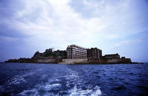 Isla fantasma | Gunkanjima en Japon