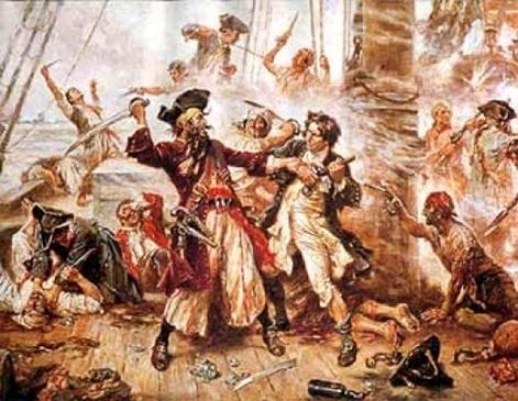 Historias de piratas| El espíritu de Barbanegra