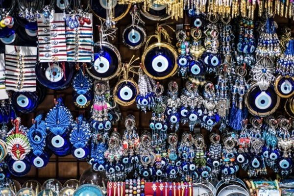 Amuletos buena suerte ojos