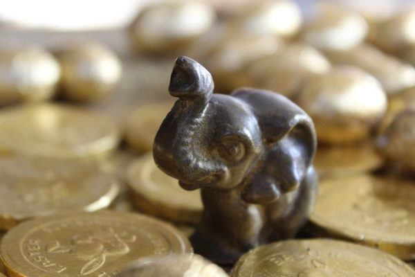 Elefante buena suerte