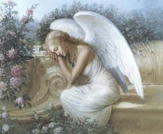Angel en sueños