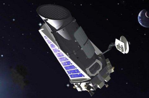 Representación-artística-de-la-misión-Kepler