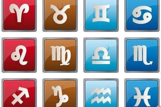 illustration of zodiac icons