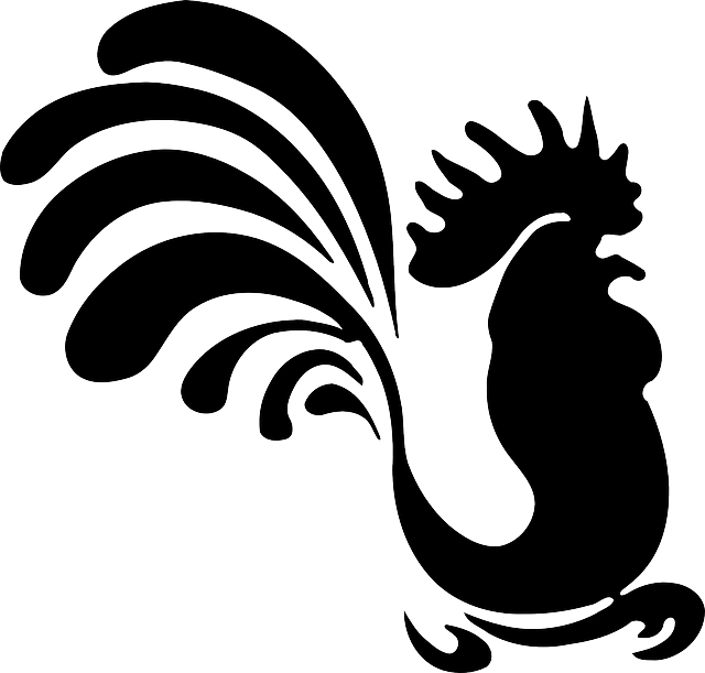 Rooster Silhouette Clip Art