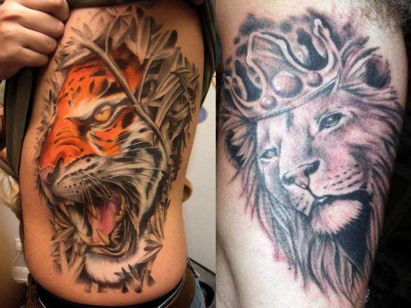 El Significado Del Tatuaje Simbolo Del Leon Esoterismos Com