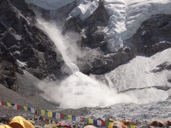 Soñar con la temperatura de la avalancha