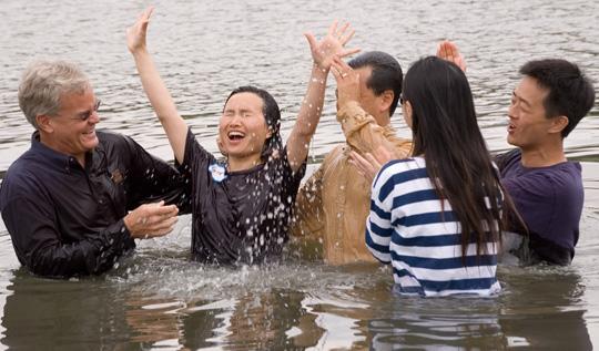 Soñar con un bautizo religioso