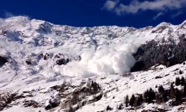 Soñar con una avalancha y tener miedo