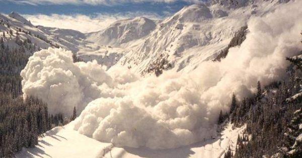 Soñar una avalancha