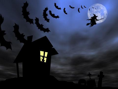 soñar con una bruja que vuela