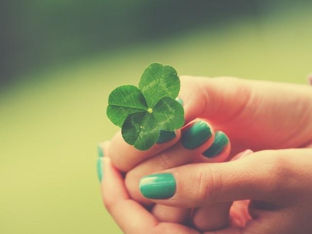 Tr bol de 4 hojas como amuleto de buena suerte - Velas de la suerte ...