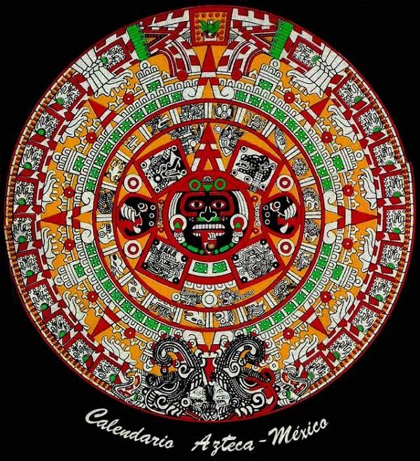El Calendario Azteca – Piedra del Sol   Esoterismos.com