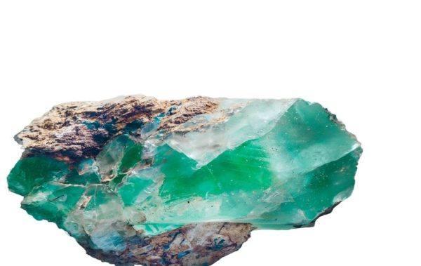 Jade con tierra