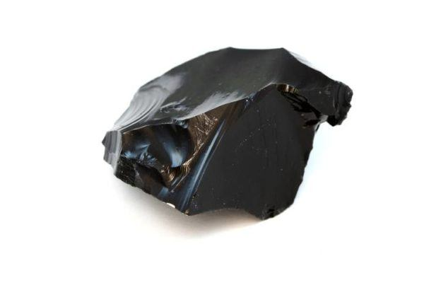 Obsidiana piedra lisa