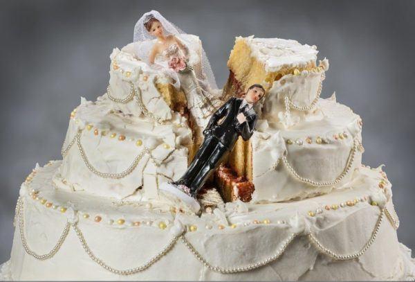Que significa sonar que se rompe el matrimonio