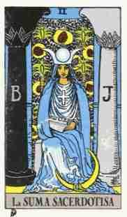 Arcano mayor: La sacerdotisa - Esoterismos.com